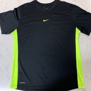 Nike Dri Fit Fitted Workout Running Shirt